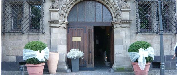 Dekorierte Kirche