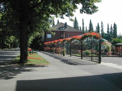 Unsere Gärtnerei mit Parkplatz