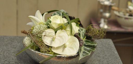 Blumengesteck für Rezeption oder Empfang