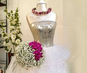 Blumenschmuck Braut Blumen Peeters